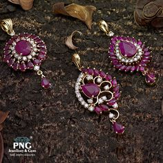 We bring to you our traditionally handcrafted Ruby and Diamond pendents studded in 18K Hallmarked gold. The diamonds used are of VVS quality standards with EF colour grade. Today color and clarity makes a Diamond more appealing and high in shine.
