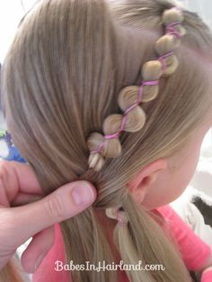 Rubber Band Wraps & Flipped Braids (8)