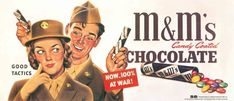 M&M's (Awesome Food Mascots of the Past)