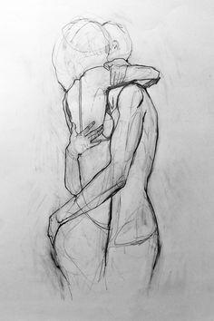 abraço é fusão.