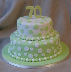70th Birthday Cakes Pictures | Class Cakes By Liz - Birthday Cake Pictures
