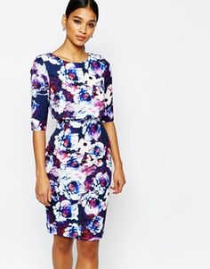 Paper Dolls Overlay Midi Dress with Open Back