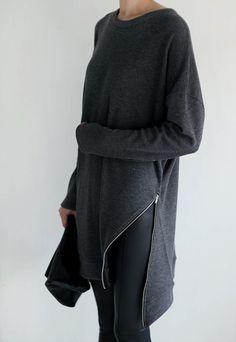 DIY zipper sweater « Outi Les Pyy