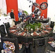 motorcycle centerpieces - Google Search