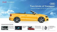 Audi A3 Cabriolet, Driving Test, Advertising