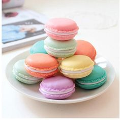 TOOPOOT(TM) 6 PCS Mini Earphone SD Card Macarons Case Carrying Pouch (4 550 LBP) ❤ liked on Polyvore