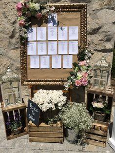 Protocolo boda, decoración