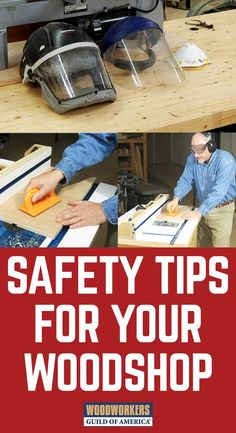There's nothing more important about working in your shop than safety. If you want to have a long future in woodworking, you've got to know how to use your tools safely and properly.