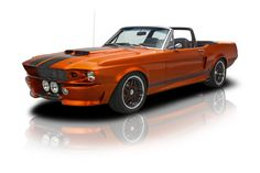 1967 Ford Mustang GT500 Convertible 428 FE Dual Quad V8 5 Speed 4 Link