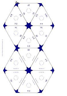 Trimino A kis (Stern) Maths, Montessori, School Stuff, Children, Kids, Puzzle, Activities, Games, School Supplies