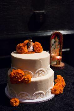 DIA De Los Muertos Wedding   Goth Club Dia de Los Muertos Wedding: Lauren & Ralf