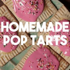 If you love Pop Tarts as we do, this recipe is perfect for you. Homemade Pop Tarts are better.