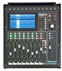 StudioMaster DigiLive 16 - 16-Channel Hybrid Digital Console