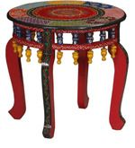 Buy Susharma End Table in Multi-Colour Finish with Mudramark by Mudramark online from Pepperfry. ✓Exclusive Offers ✓Free Shipping ✓EMI Available