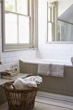 badkamer inrichten traditioneel