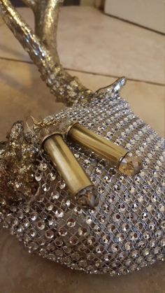 Bullet Casing Bling Earnings by HollowpointPrincess on Etsy