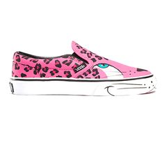 "Amei amei e amei :3 Vans  ""pantera"" cor de rosa"