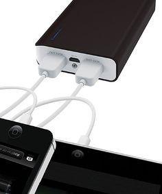 Portable Power Bank   DGL Group Black 6,600-mAh USB Mobile & Tablet