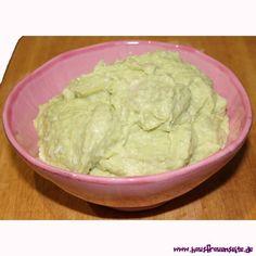Avocado-Dip - AvocadoRezept  Avocado-Rezept um Avocado-Dip oder Avocadocreme selber zu machen vegetarisch laktosefrei glutenfrei