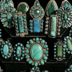 turquoise ......My mantra: One can never own or wear too much turquoise.