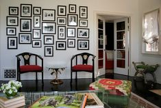 How do you design a collage wall? Answer: Hey Brittany - collage walls are an awesome way to...