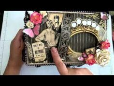 Graphic 45 Curtain Call - Altered Cigar box for Jade's SSCBS
