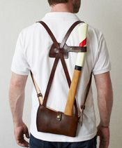 Axe bag by Best Made Co.