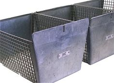 Vintage Locker Baskets $56.00 Re-purposed vintage locker baskets will add new design and orgainization to your home or office. Extra sturdy with a solid galvanized All locker baskets have a numbered tag that reads FRANK D. COHEN.