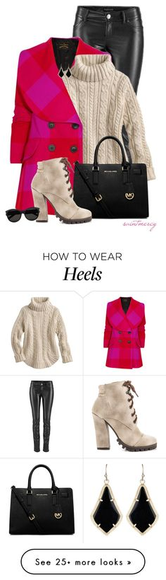 """""""""""You can't be happy unless you're unhappy sometimes"""".""""  ― Lauren Oliver"""" by saint-mercy on Polyvore featuring Vivienne Westwood Anglomania, MICHAEL Michael Kors, Michael Antonio, Kendra Scott and Yves Saint Laurent"""