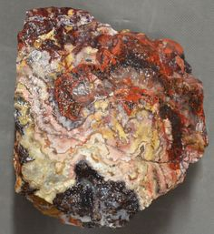 Mexican Crazy Lace Agate 6 pounds 4 ounces Lapidary Slabbing Cabbing Tumbling Crazy Lace Agate, Highlight, Mexican, Patterns, Breakfast, Colors, Food, Lights, Block Prints