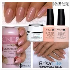 CND shellac with Brisa Gel on natural nails. Than one coat of Bare Chemise and thsn Baur. You can never go wtong with the naturals. What do you think???