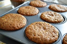 Muffins de plátano integrales