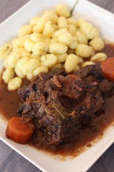Goulash de joue de boeuf goulash pinterest - Joue de porc en cocotte minute ...