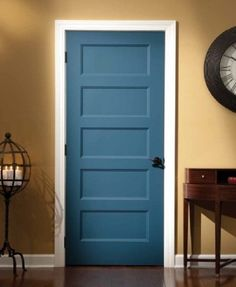 craftsman style interior doors | Door Designs Plans Dare you paint them an accent color!! Lime? or aqua? hmmmmm...