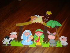 Pesebres en foami - Imagui Ideas Para, Pattern, Crafts, Christmas Ideas, Party Favors, Christmas Things, Christmas Ornaments, Christmas Decor, Bedroom Decor