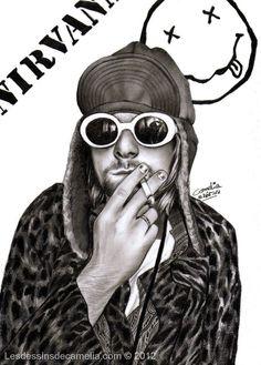 Kurt Cobain - Nirvana by Camelia-07