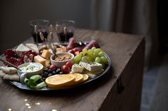 Greek New Year's Platter