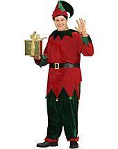Adult Plus Size Deluxe Santas Helper Costume - clearance - plus-size-costumes