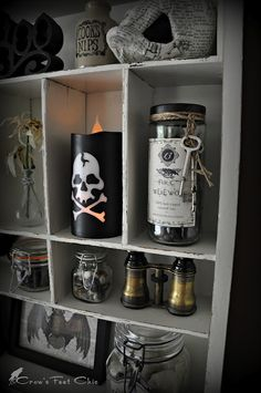 ~Creepy Cool Collections to Display (Crow's Feet Chic)~