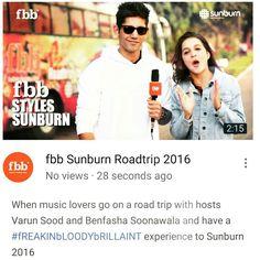 VJ VARUN SOOD HOSTING SUNBURN2017 WITH FBB  #RoadiesRising #BigF #forbiddennomore  #CampusBUZZ#VJVarun is coming your Way! #mtvcampusdiaries#squadrann #Splitsvilla9#mtvindia#instadaily#twitter#fandom#edits#comment#like#follow#love#share#varuniac#varunsood#campusdiaries
