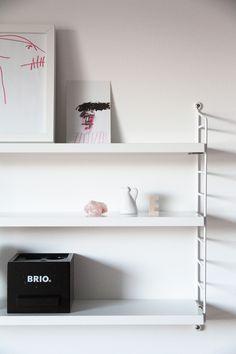 String Pocket shelf by String. From the blog Hunajaista.