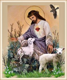 In Christ Alone, The Good Shepherd, Jesus Pictures, Eucharist, Mixed Media Art, Facebook, Painting, Image, Christ