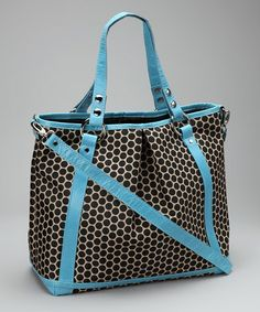 Take a look at this Sky Blue Lyndsey Diaper Bag by Mia Bossi on #zulily today! $169.99, regular 330.00