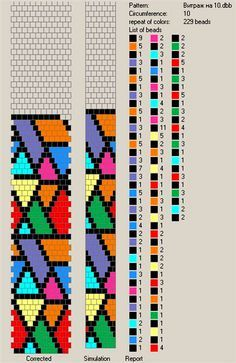Bead Crochet Rope Patterns Free Pattern For Beaded Crochet Rope Harlequin Beads Magic Bead Crochet Patterns, Bead Crochet Rope, Peyote Patterns, Bracelet Patterns, Beading Patterns, Beaded Crochet, Loom Bands, Crochet Beaded Bracelets, Beaded Jewelry