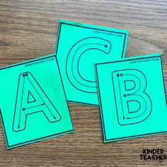 Letter Formation Cards Writing Center Kindergarten, Kindergarten Special Education, Handwriting Activities, Guided Reading Lessons, Nice Handwriting, Letter Formation, Free Activities, Working With Children, Teaching