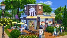BeAzSims: Destaque da Gallery: Lotes de lojas no The Sims 4 ...