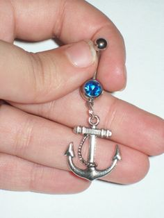 Anchor Belly Button Ring :) wish I had the guts to get a belly button piercing