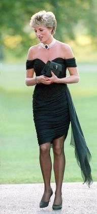 Princess Diana's LBD actually managed to steal the spotlight from her then-husband Prince Charles.