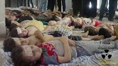 Children of of Syria are victims of chemical weapons.