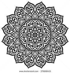 stock-vector-mandala-round-ornament-pattern-vintage-decorative-elements-hand-drawn-background-islam-arabic-276898415.jpg (450×470)